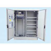 Quality Steel +Insulation Cotton Fiber Optic Cabinet Double Compartment Outdoor for sale