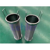 China Stainless Steel Material Wire Mesh Filter Element For Nippon Paint 120 Micron wholesale