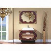 China Bathroom Vanities, Available in Various Style and Faucets wholesale
