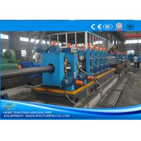 China Heavy Duty ERW Pipe Mill Machine Worm Gearing Rectangular 165 * 6mm Pipe Size wholesale