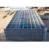 China Heavy Duty Steel Cattle Guards Corral Fence Panels For Livestock wholesale