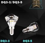 diamond led bulb lamp crystal light candle bulb led