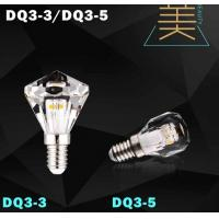 China diamond led bulb lamp crystal light candle bulb led wholesale