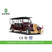 Buy cheap Real Estate Used Electric Vintage Cars Red Royal Buggy 11 Seats Passenger Golf Carts from wholesalers