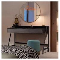 China Simple Dressing Tables With Mirror Glass Door / Wardrobe Hotel Furniture Set wholesale