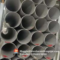 China Stainless Steel Welded Pipes, ASTM A312 TP304,TP304L,TP304H,TP321,TP316L,ASTM A790 S31803,SCH10, SCH40,6M,11.8M wholesale