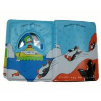 China Eco Friendly Baby Bath Books Happy Penguin Patterns Light Weight For Carrying wholesale