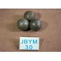 China Rolled and Forged Grinding Steel Ball 20mm - 140mm for Mining and Cement Mill wholesale