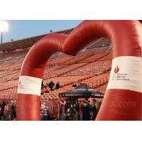 China Heart Shape Inflatable Arch wholesale