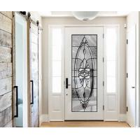 China natural light  Sound Insulation Inlaid Door Glass For Building precise measurements on sale