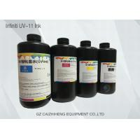 China Curable Flatbed LED UV Ink Strong Chemical Resistance Infiniti UV-11 wholesale