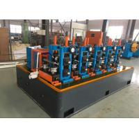 China High Speed ERW Ms Pipe Forming Machinery , tube mill equipmentAutomatic PLC Control wholesale