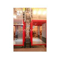 China Single / Double Car 2700kg Industrial Elevators with Mast Hot-dip Galvanized wholesale