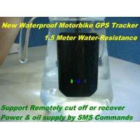 Quality Waterproof Motorcycle Mini GSM SMS GPRS GPS Tracker Locator W/ Cut-off Oil & for sale