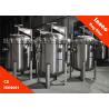 China BOCIN Liquid Water Single Bag Filter Housings Hydraulic Filter , Pn1.0 / 1.6mpa wholesale