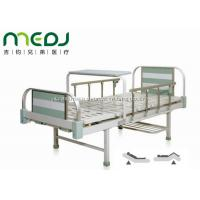 Quality MJSD05-08 Manual Hospital Bed , Two Cranks Adjustable Hospital Beds With Dinning Table for sale