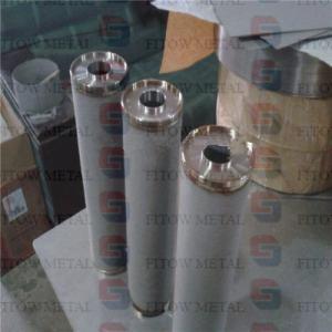 China Manufacturers  provide high-pressure metal-resistant refractory metal filter cartridges wholesale