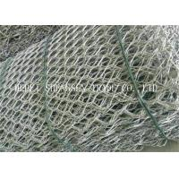 China Economic Gabion Wire Mesh / Hexagonal Wire Netting Corrosion Resistant wholesale