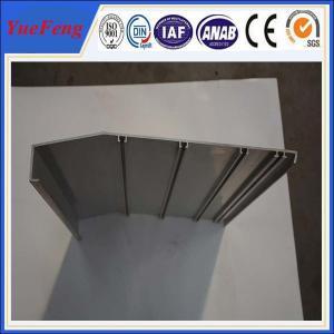 China aluminium framing material manufacturer/ 6063 aluminium alloy profile for working flatform wholesale