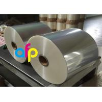 China Wet Glossy Flexible Packaging Film 12 Micron Corona Treated 3000 - 9000m Length wholesale