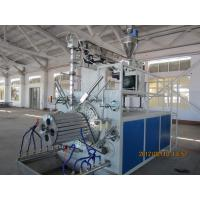 China PLC control Hollow Wall Pipe Winding Machine 240kw , Plastic Pipe Extrusion Line on sale