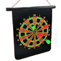 China Magnetic two-sided dart board safety magnetic dartboard color random wholesale