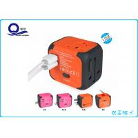China OEM Color Dual Port USB Travel Adapter Charger All In One Multi Function Plug Socket wholesale