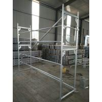 China ALuminum And Steel Stalowa Baumann Mostostal  System 0.73*2m H Frame Scaffold wholesale