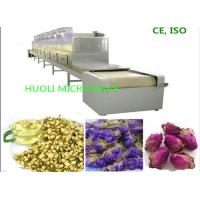China Industrial Microwave Drying Flower Dryer Machine Tunnel Type Flower Dehydrator wholesale