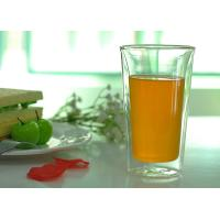China Tableware Double Wall Borosilicate Glass Drinking Ware Microwave Safe wholesale