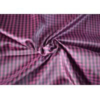 Quality Traditional 100 Polyester Lining Fabric Comfortable Touch Woven Type for sale