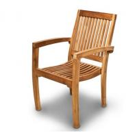 China china outdoor furniture wooden armchair teak chair wholesale