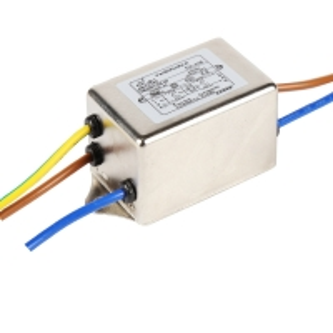 China Metal 120V 250V Single Phase RFI Filter Two Stage EMI EMC Filter wholesale