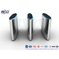 China 304 Stainless Steel Flap Barrier Gate Security Flap Turnstile Access Control System wholesale