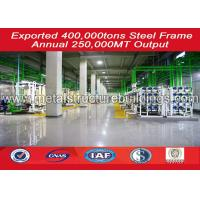 China Wide Span Light Pre Engineered Steel Buildings / Depot / Garages Water Proofing wholesale
