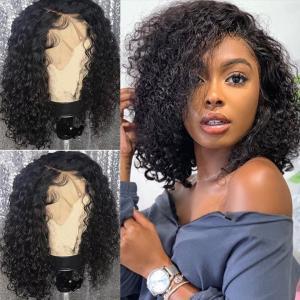 China 10 Inches Lace Closure Bob Wig Hair Extensions / 100 Real Human Hair wholesale