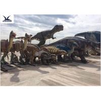 China Jurassic Park Dinosaur Project Giant Animatronic Moving Dinosaur Realistic Model wholesale
