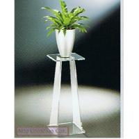 "China 4.25"" Clear Acrylic Vase Stand , Vase Pedestal Modern Furniture wholesale"