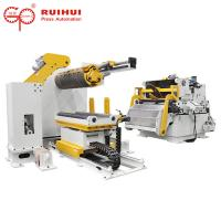 Buy cheap Precision Coil Decoiler Straightener Feeder For Metal Stamping / Stainless Steel from wholesalers