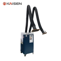 China Centrifugal Fan 2600m³/H 3kW PLC Mobile Fume Extractor on sale