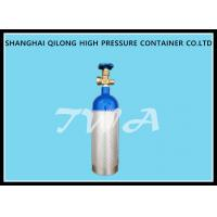 China 1.68L DOT  CO2 Beverage Aluminium Gas Cylinder 139bar / 2015psi wholesale