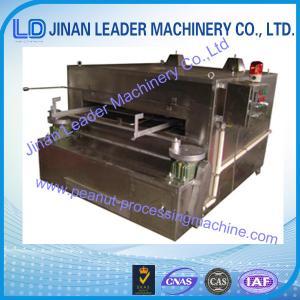 China fishskin peanut roasting and coating plants/coated nuts making,peanut chocolate coating wholesale