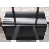 Customized Size Black Granite Floor Tiles Polished Granite Countertop Tiles