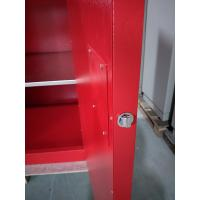 Quality Chemical Safety Paint Storage Cabinets Double Doors For Hazardous Material for sale