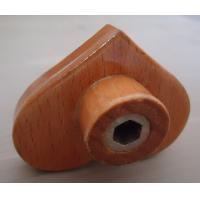 China heart shaped drawer knob good quality wood handle for Cabinet Drawer wholesale