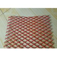 China Colorful Expanded Stainless Steel Mesh with Firm Structure Diamond Hole wholesale