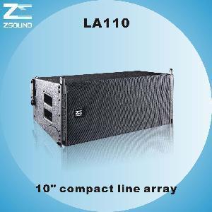 "China LA110, 10"" Compact Powerful Line Array Speaker wholesale"