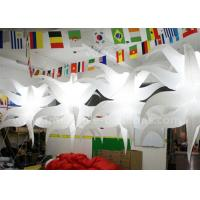 Buy cheap Unique Shaped Hanging Seastar Led Light Balloon Lighting Inflatable Club Decorations product