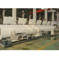 China CE SGS PP PE PVC Making Machine Line , Plastic Pipe Vacuum Calibration Cooling Tank wholesale