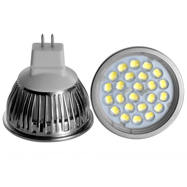Quality AC DC 12V 5 Watt Led spotlight MR16 with GU5.3 lamp holder 360 lumens for sale